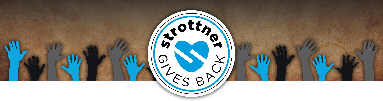 Strottner Gives Back header