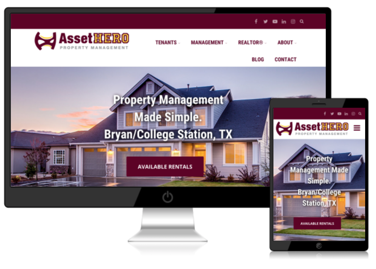 San Antonio Website Design Example